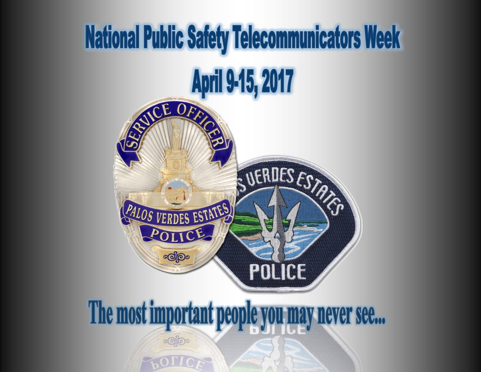 2017 National Public Safety Teleommunications Week