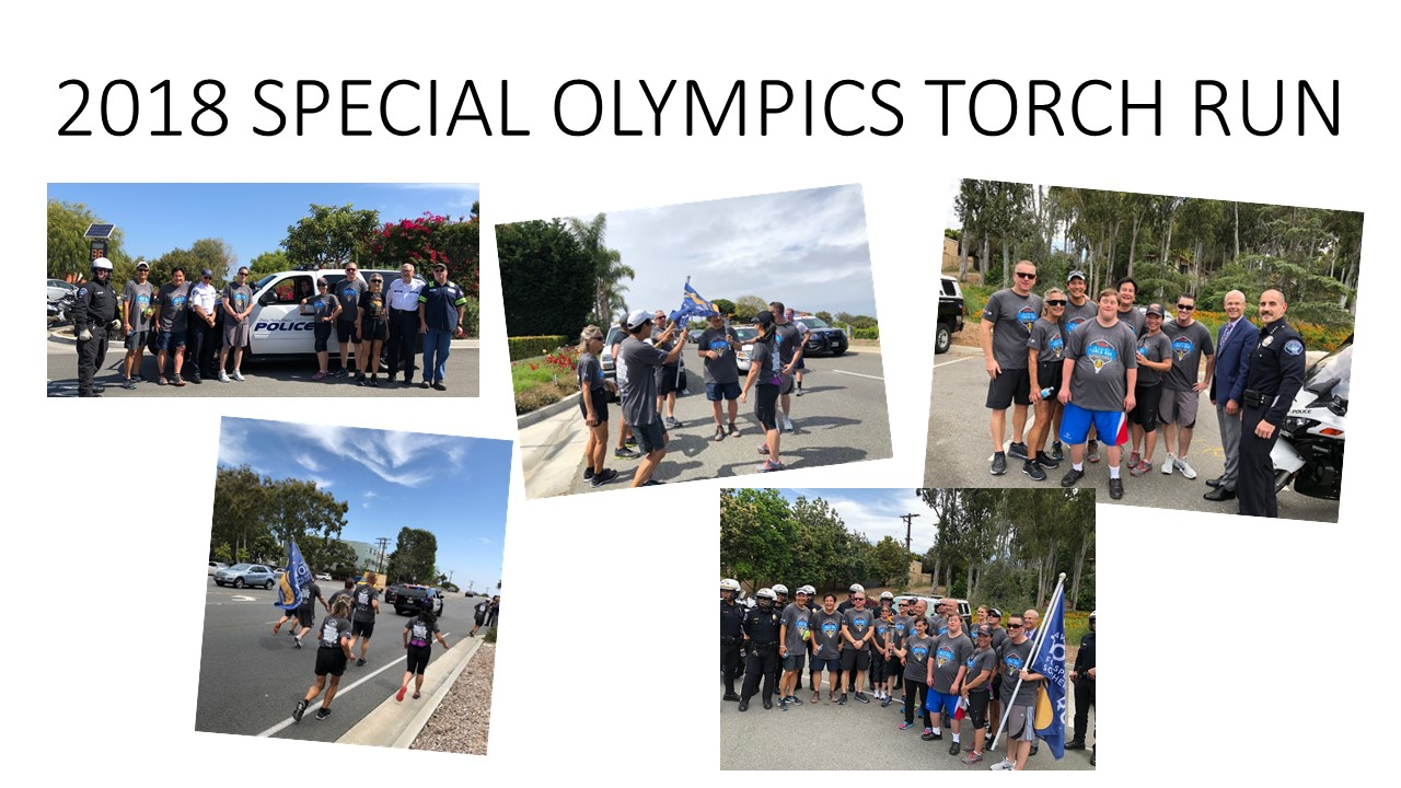2018 SPECIAL OLYMPICS TORCH RUN